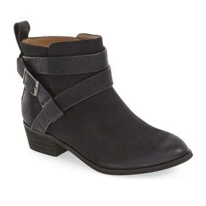 Anthropologie Splendid Leather Bootie, size 8